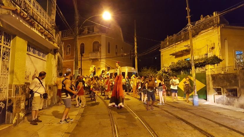 Santa Teresa pre-carneval