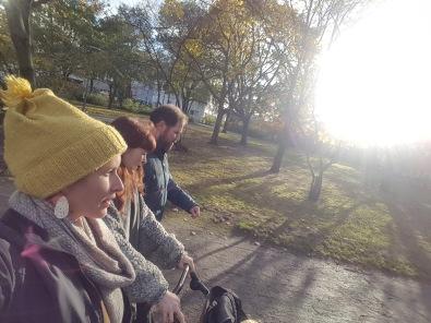 Berlin walks with Darwinites