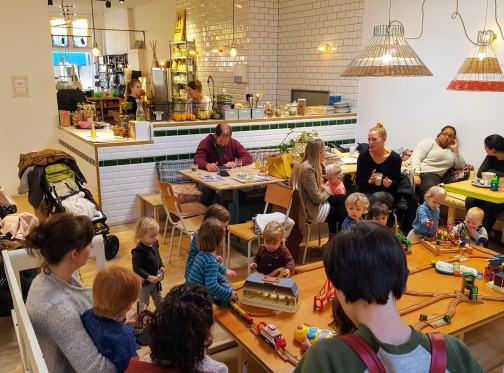 Family friendly cafes were a highlight!