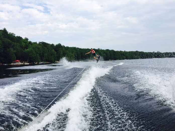 Wakeboarding moves by Will