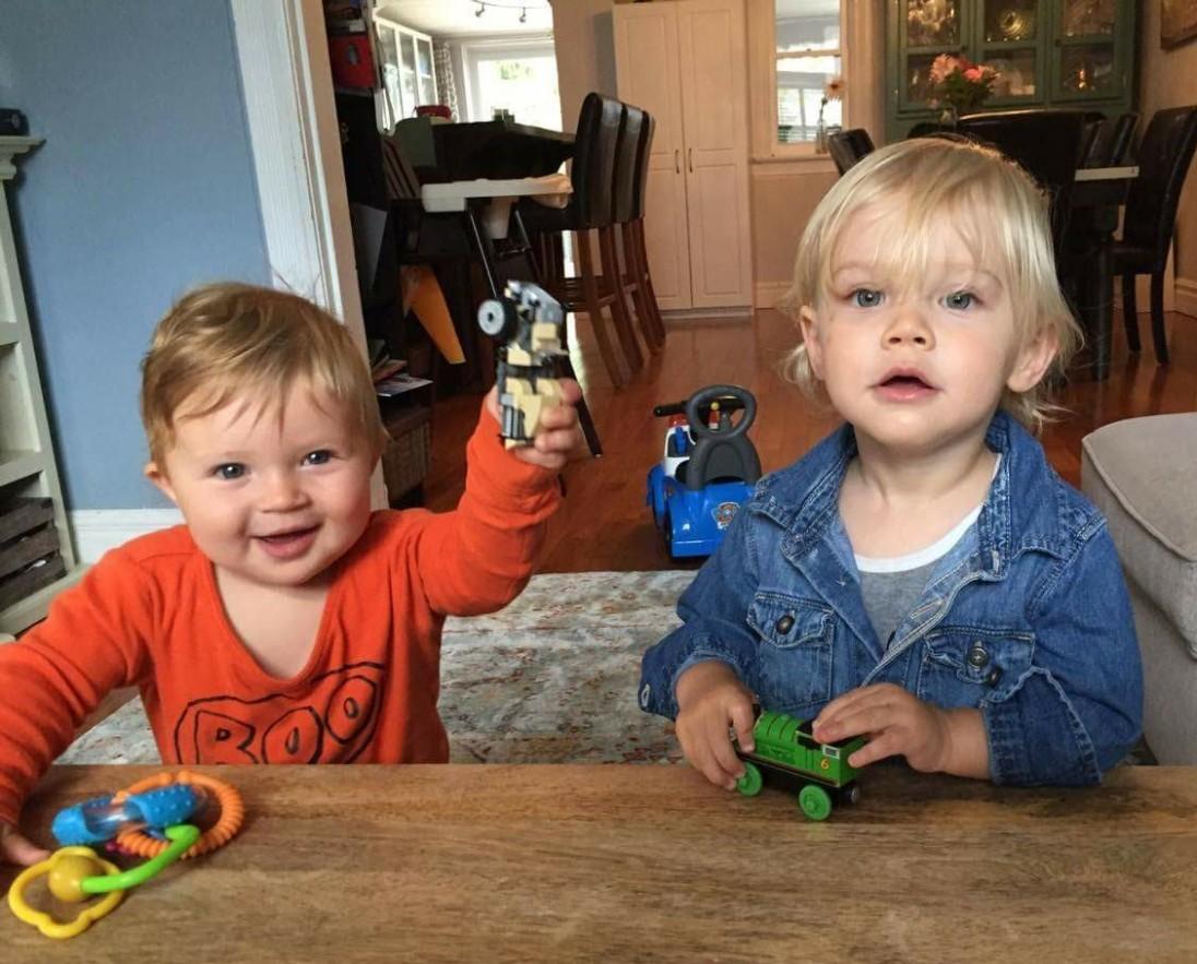 Finn Atlas and his team leader, Owen